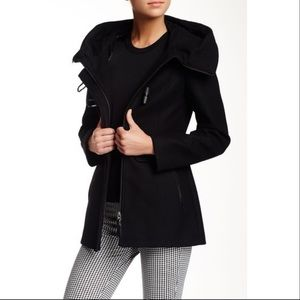 "Mackage ""Zandra"" Hooded Wool Coat"